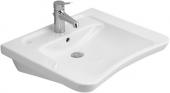 Villeroy & Boch Architectura Vita - Waschtisch 650 x 550 mm mit Überlauf weiß