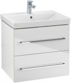 Villeroy & Boch Avento - Waschtischunterschrank 580 x 514 x 452 mm crystal white