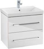 Villeroy & Boch Avento - Waschtischunterschrank 618 x 520 x 447 mm crystal white