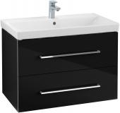 Villeroy & Boch Avento - Waschtischunterschrank 760 x 520 x 447 mm crystal black