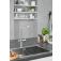 Grohe Red - Einhand-Küchenarmatur DUO mit Boiler L-Size und L-Auslauf chrom environment 1