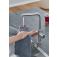 Grohe Red - Einhand-Küchenarmatur DUO mit Boiler L-Size und L-Auslauf supersteel environment 6