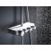 GROHE Euphoria SmartControl - Duschsystem Rainshower 310 Smart Active mit Thermostatarmatur chrom / mondweiß