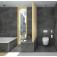 Villeroy & Boch ViClean - Dusch-WC Set ohne Spülrand weiß mit CeramicPlus Milieu 6