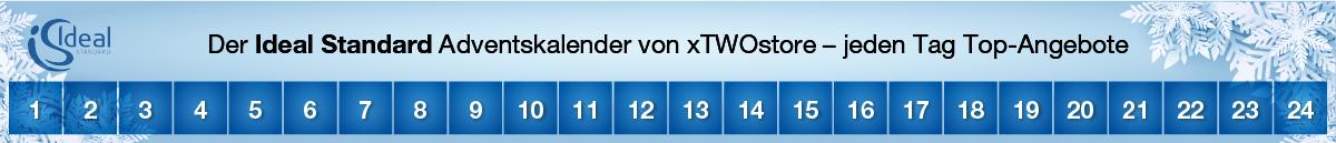 Ideal Standard Adventskalender bei xTWOstore