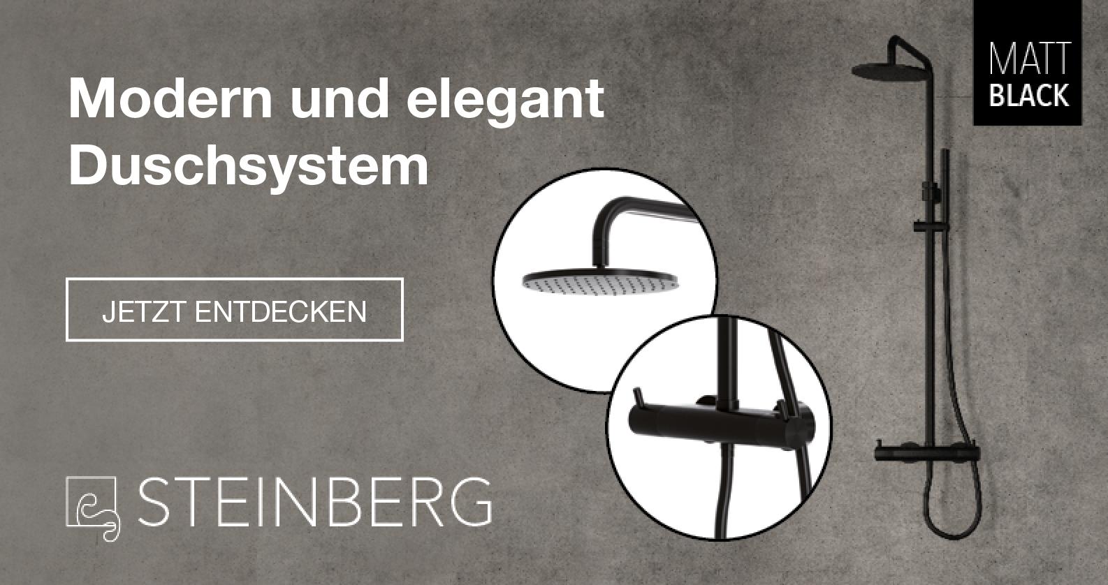 Steinberg Duschsystem