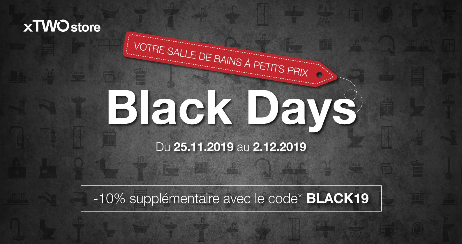 Black Days chez xTWOstore