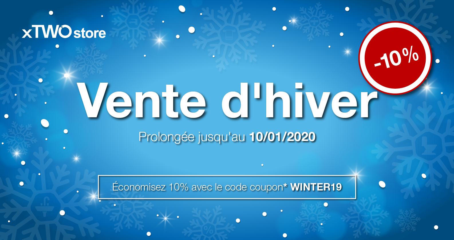 Winter Sale chez xTWOstore
