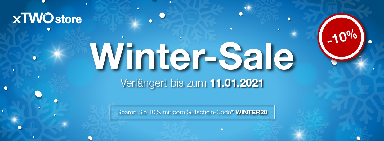 Winter-Sale bei xTWOstore