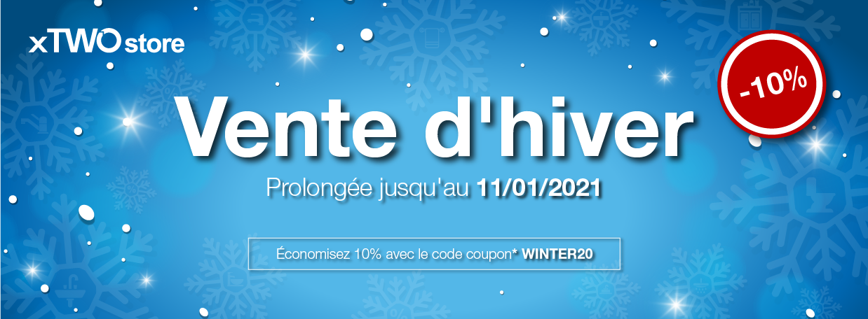 Winter Sale chez xTWOstore