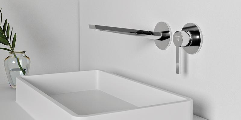 Steinberg Serie 260 Waschtischarmatur Wandmontage