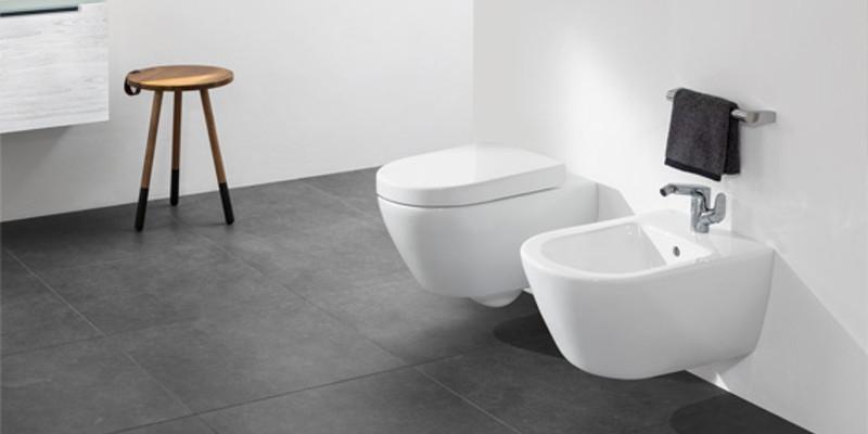 Villeroy & Boch Subway 2.0 Toilette und Bidet wandhängend