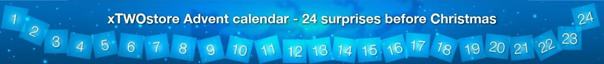Advent calendar xTWOstore