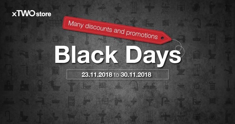 Black days xTWOstore