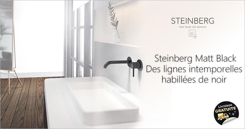 Steinberg robinetterie noir