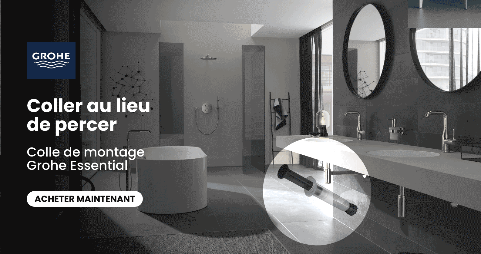 Action colle GROHE chez xTWOstore