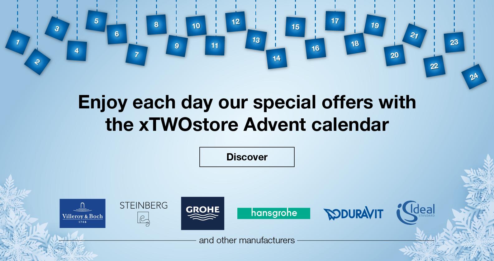 xTWOstore Advent Calendar