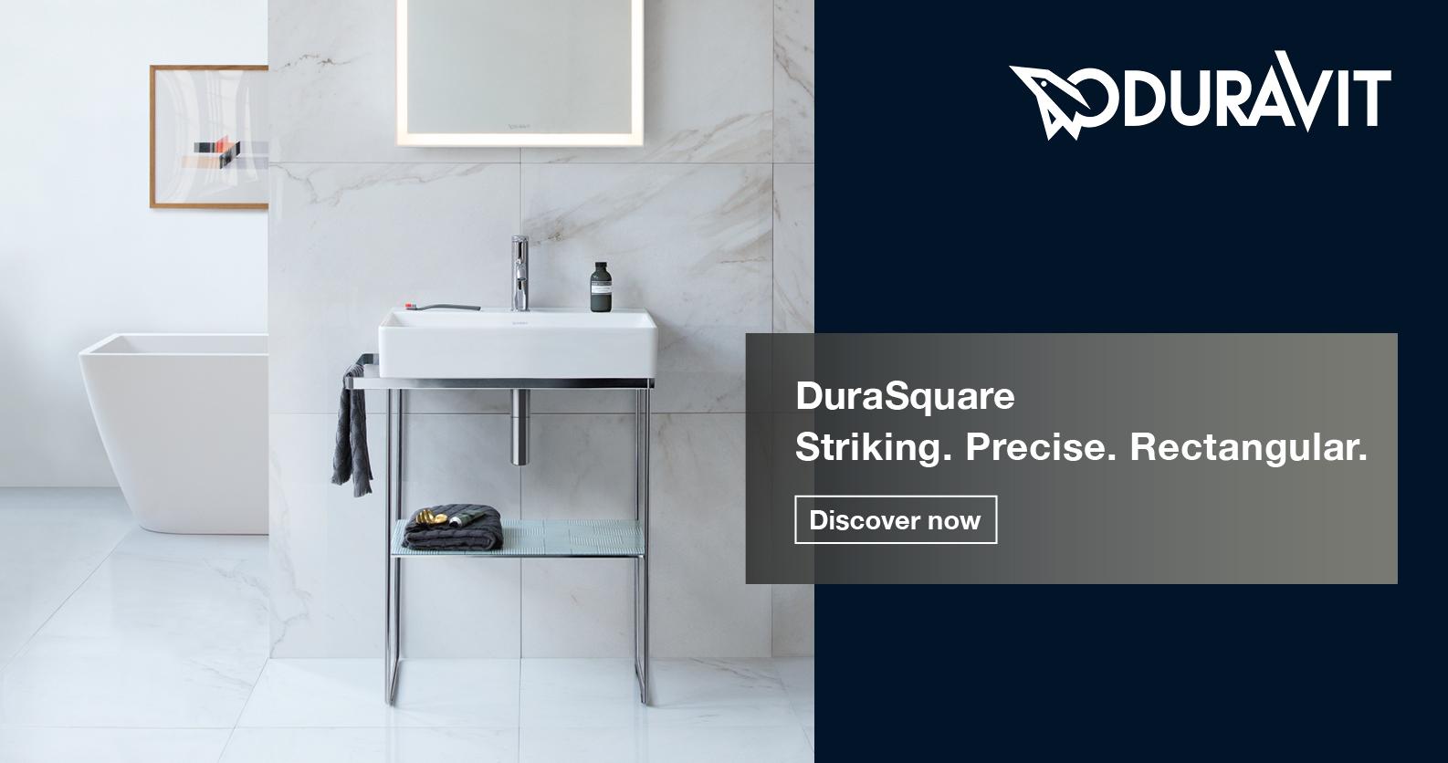 Duravit DuraSquare at xTWOstore