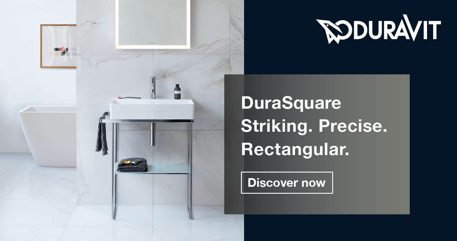 Duravit DuraSquare at xTWOstore