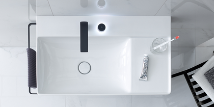 Duravit DuraSquare Washbasin with Towel Bar at xTWOstore