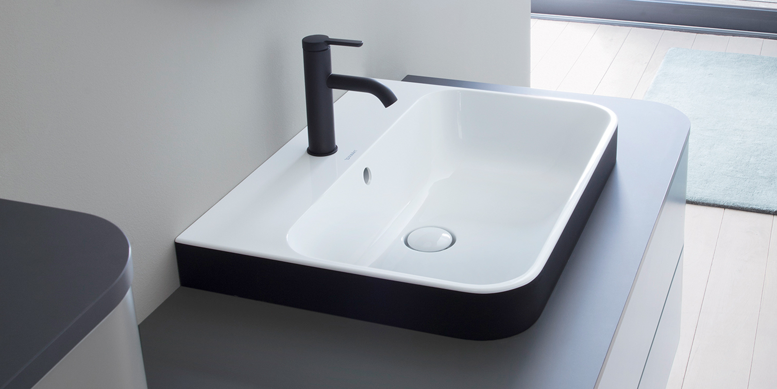 Duravit Happy D.2 Plus Countertop Basin at xTWOstore