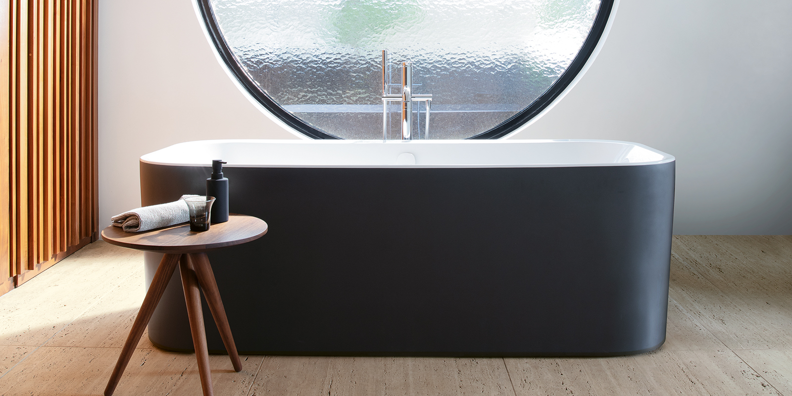 Duravit Happy D.2 Plus Bathtub Graphite Super Matt at xTWOstore