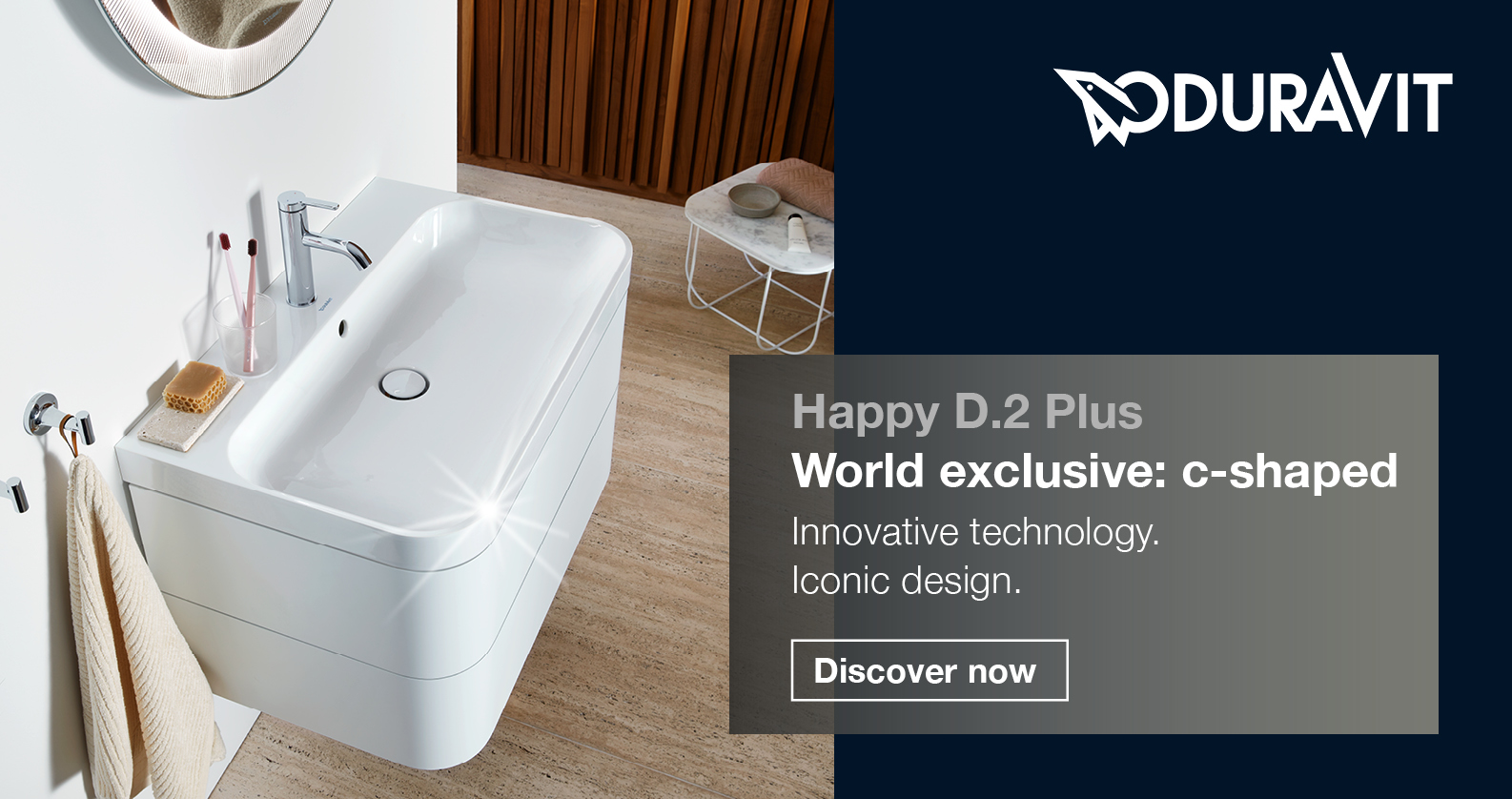 Duravit Happy D.2 Plus at xTWOstore