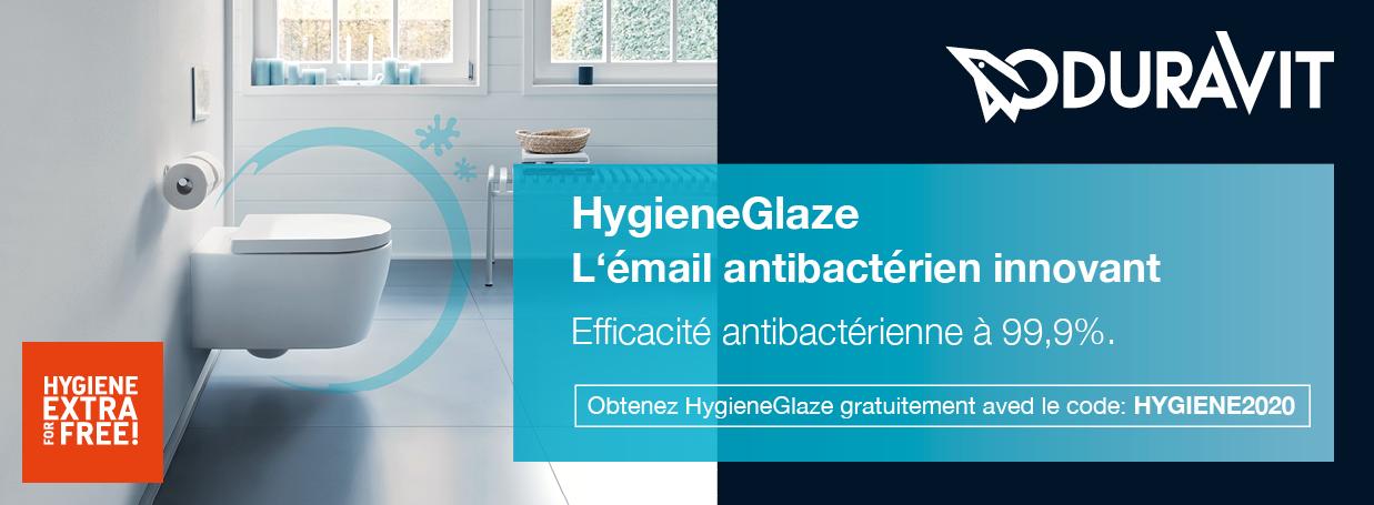 DURAVIT HygieneGlaze-Aktion bei xTWOstore