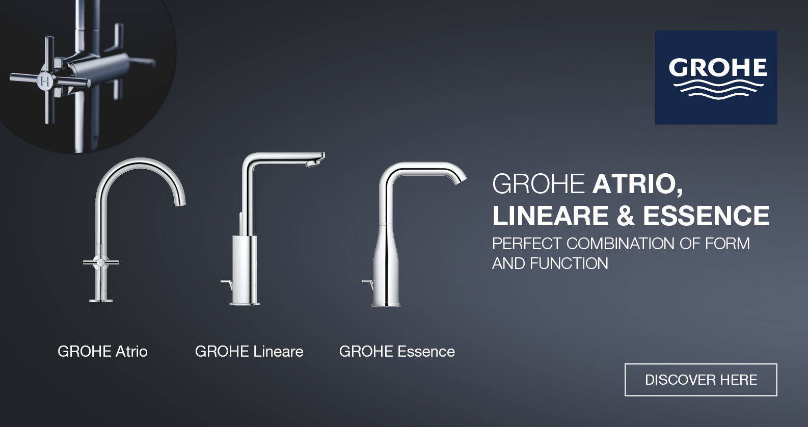 GROHE Top Tap Series at xTWOstore