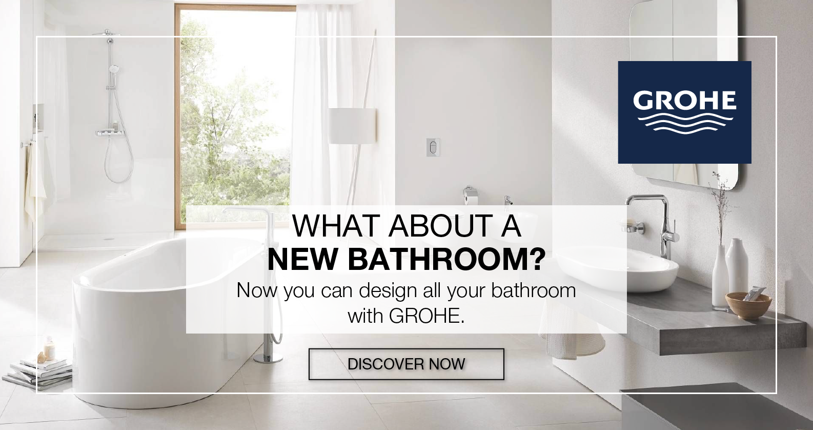 Discover everything for the bathroom from GROHE at xTWOstore