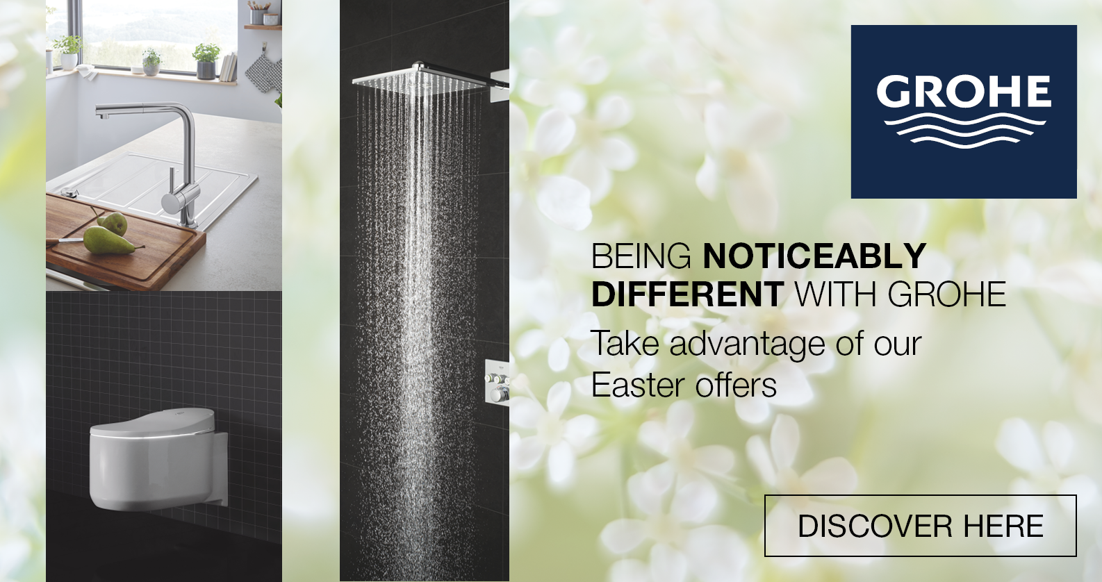 GROHE Easter Promotion at xTWOstore. Discover Top Products