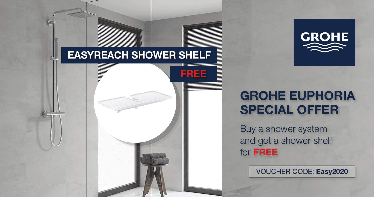 GROHE Euphoria Promotion at xTWOstore