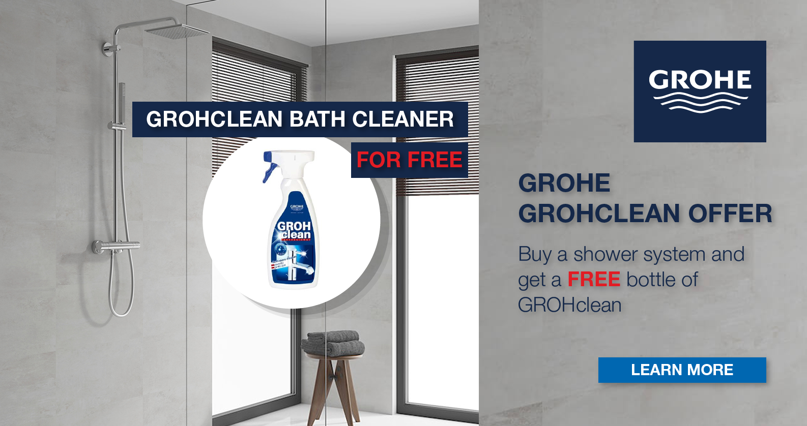 GROHE GROHclean Promotion at xTWOstore