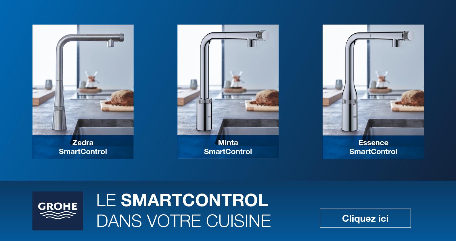 Mitigeurs de cuisine SmartControl GROHE