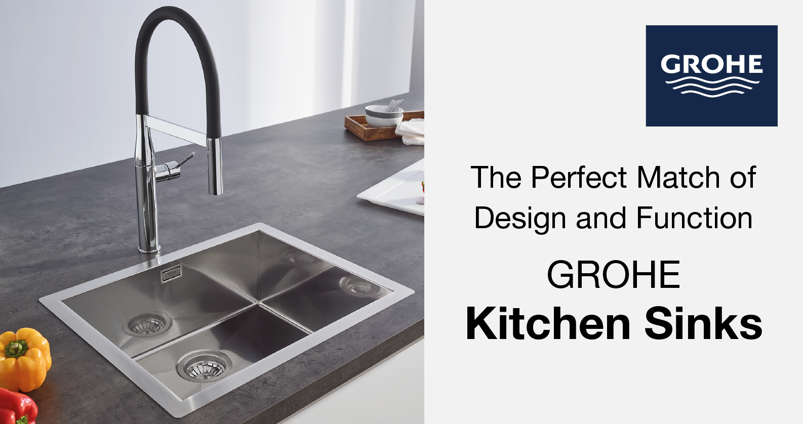 Kitchen Sinks from GROHE