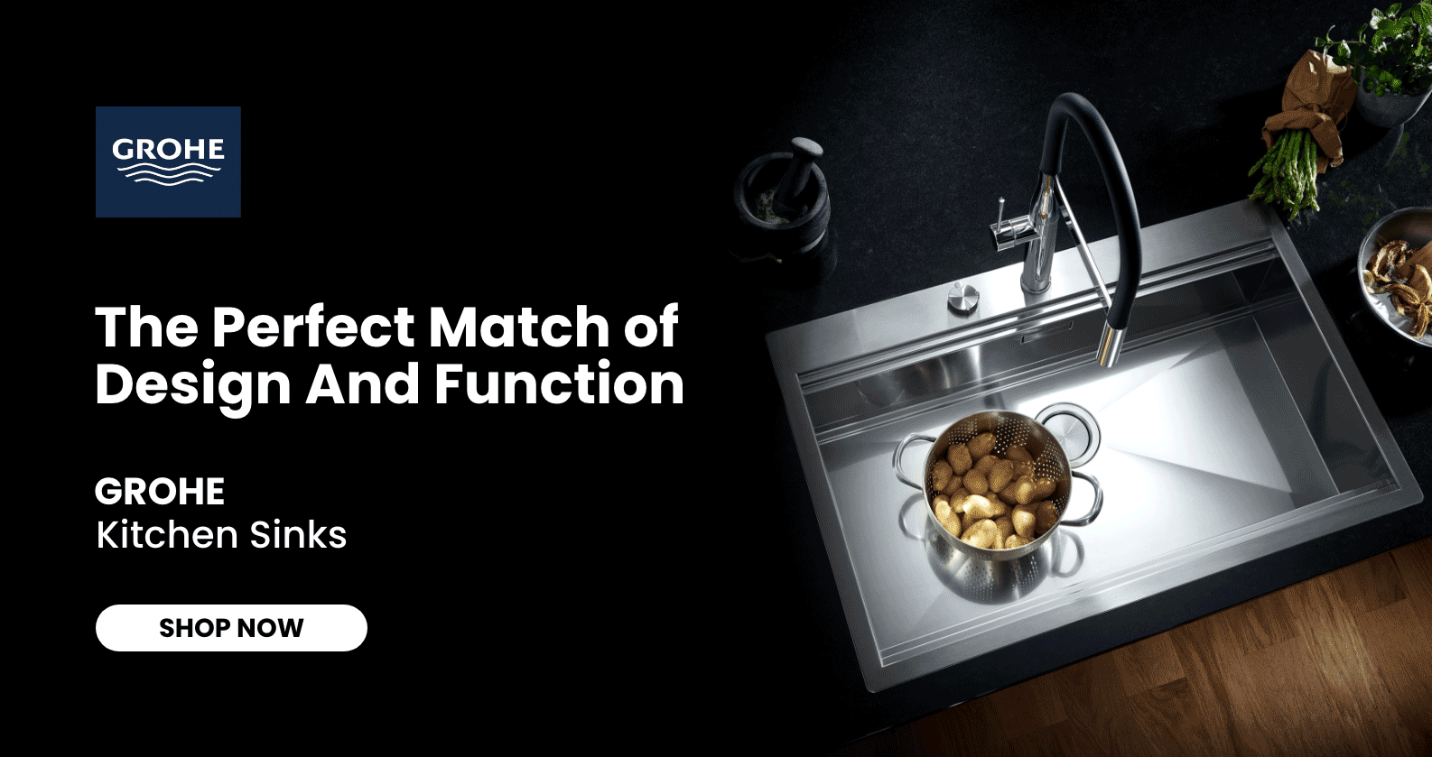 GROHE Kitchen Sinks at xTWOstore