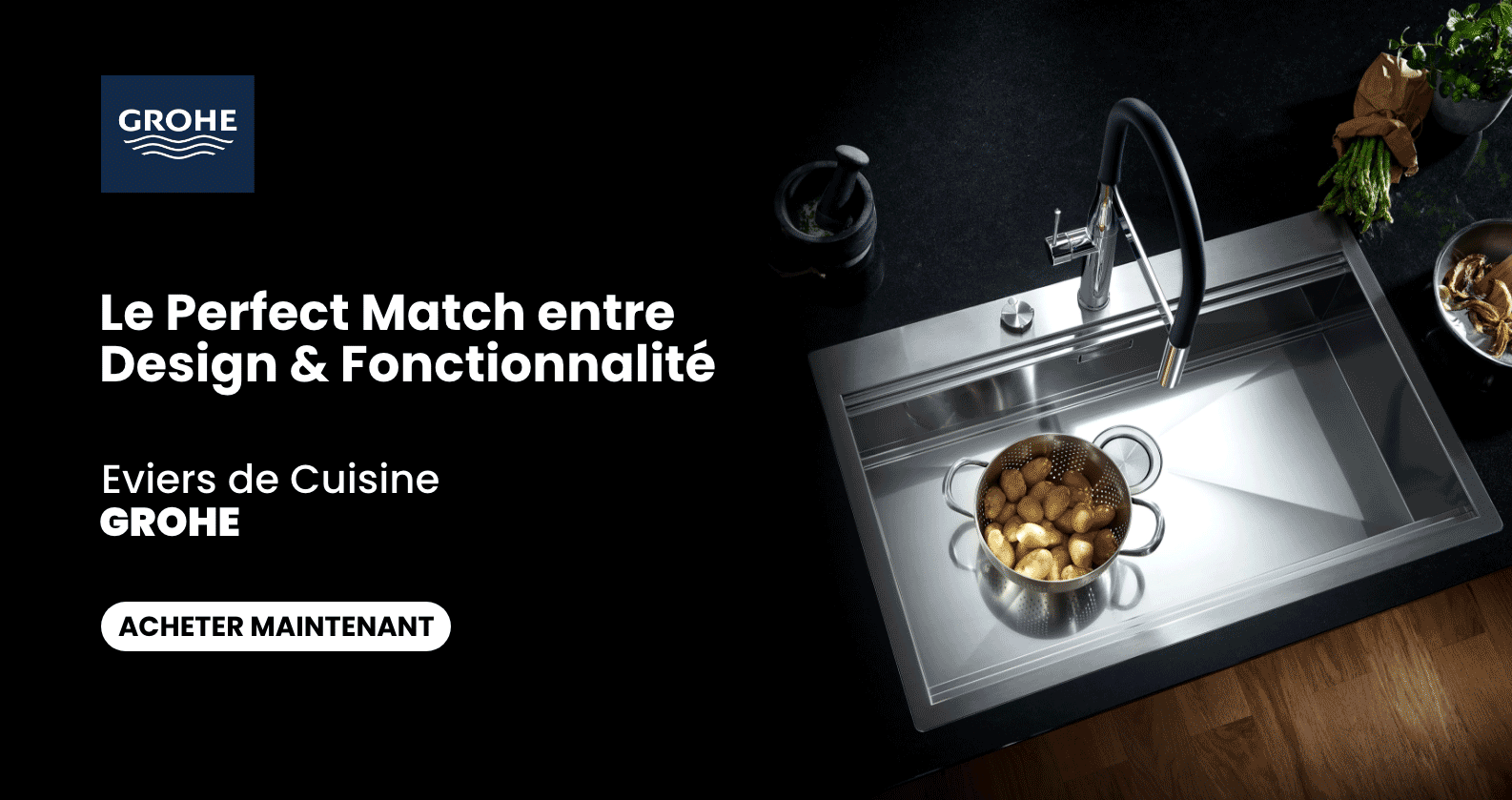 GROHE Éviers chez xTWOstore
