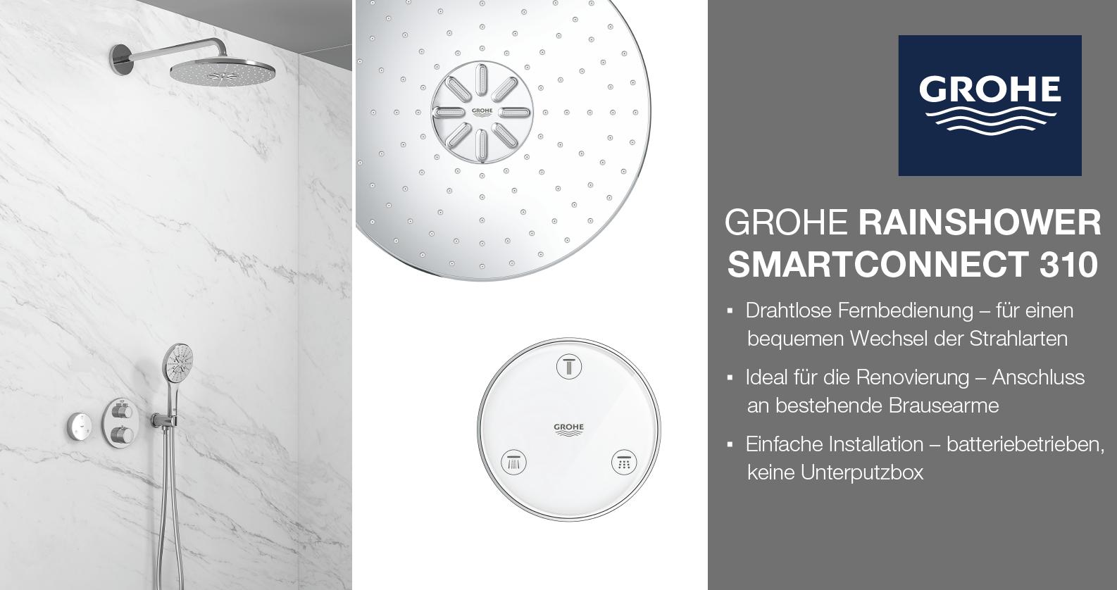 GROHE Rainshower SmartConnect chez xTWOstore