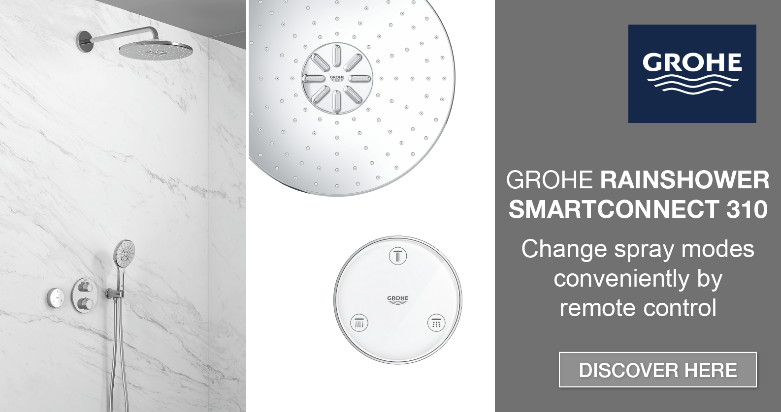 Discover GROHE Rainshower SmartConnect at xTWOstore