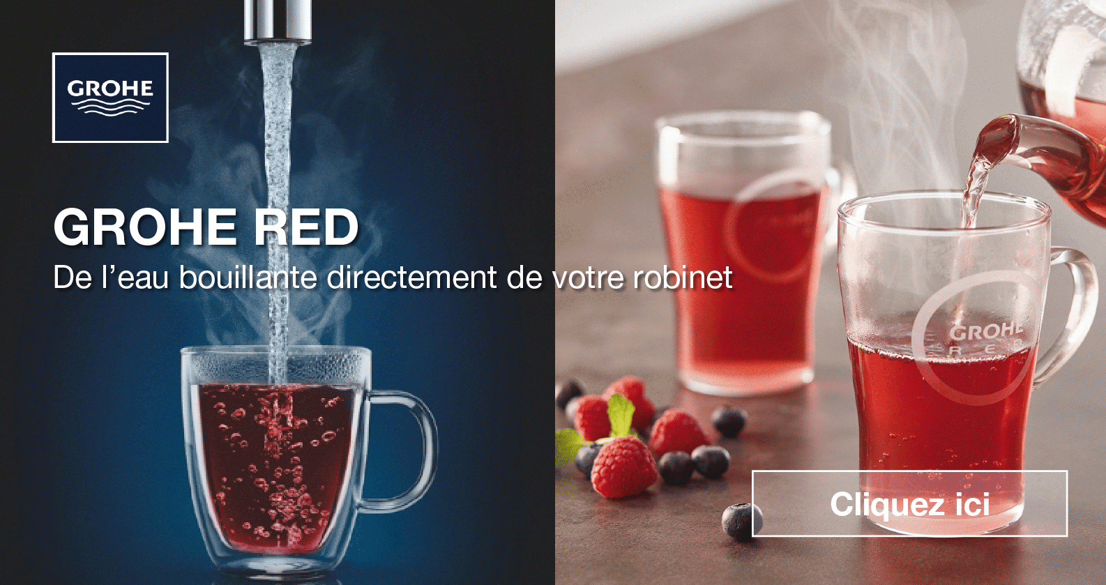 GROHE Red chez xTWOstore