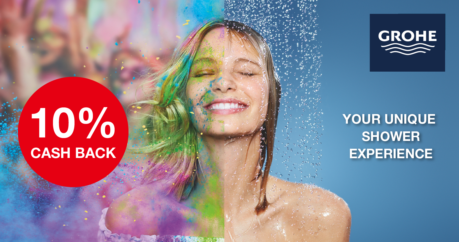 GROHE Cash Back Promotion at xTWOstore
