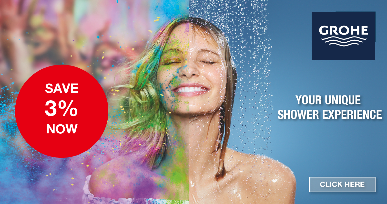 GROHE Shower Systems Promotion at xTWOstore