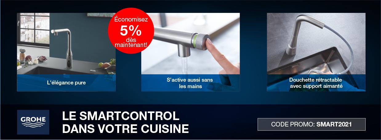 GROHE Mitigeurs de cuisine SmartControl