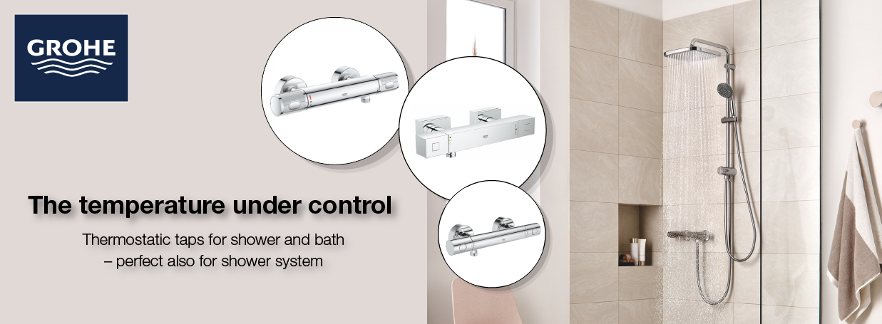 GROHE Thermostatic Taps Promotion at xTWOstore
