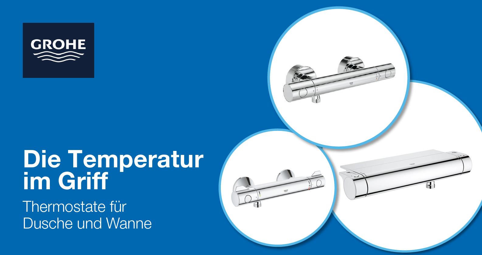 GROHE Aufputz-Thermostate