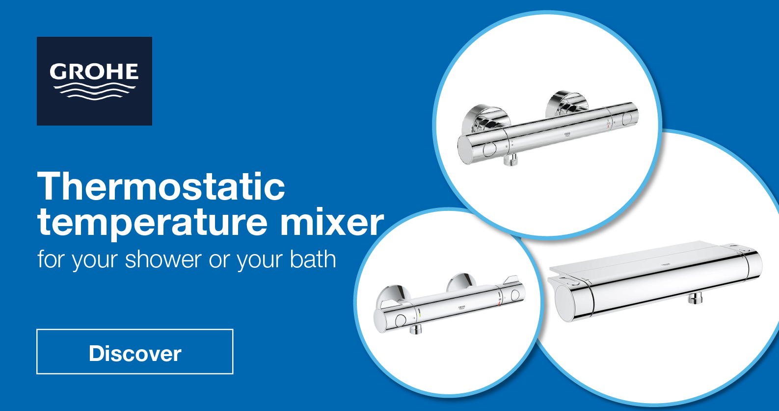 GROHE Thermostats for Shower and Bathtub at xTWOstore