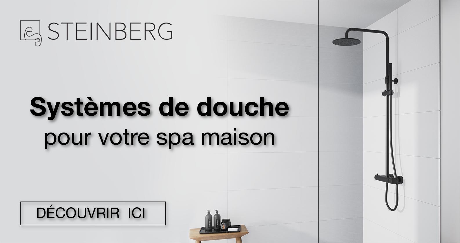 Steinberg Systèmes de douche chez xTWOstore
