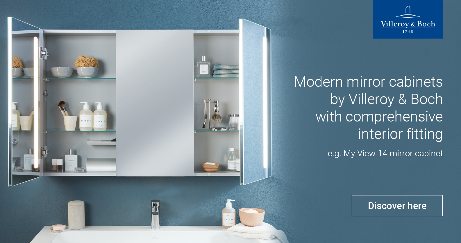 Villeroy & Boch Mirror Cabinets at xTWOstore