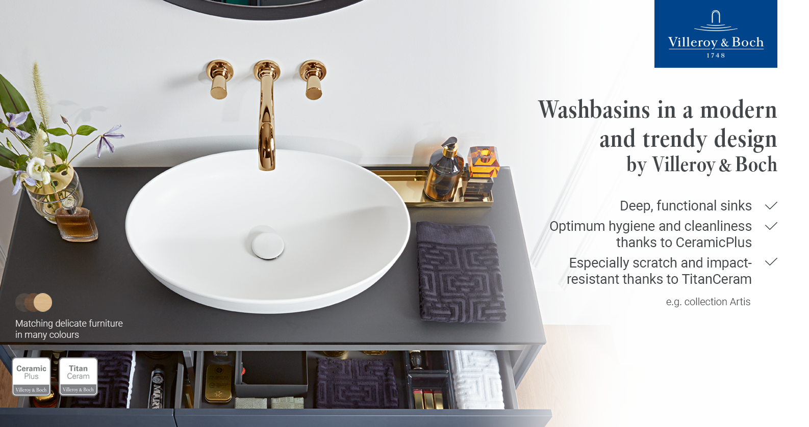 Discover Villeroy & Boch Artis at xTWOstore