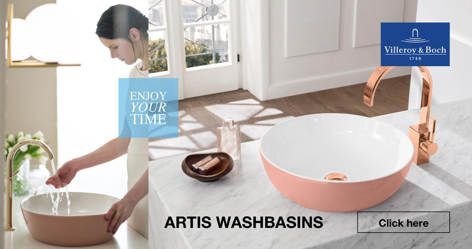 Villeroy & Boch Artis Washbasins